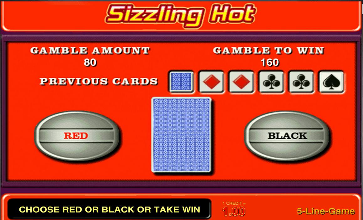 Bonusspiele Sizzling Hot